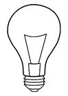 Målarbild lampa