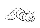 Målarbild larv