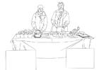 Målarbild  livsmedelsbistÃ¥nd