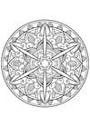 Målarbild Mandala