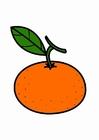 Målarbild mandarin