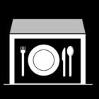 Målarbild matsal