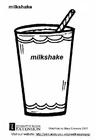 Målarbild Milkshake