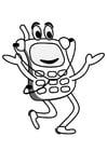 Målarbild mobiltelefon
