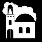 Målarbild moské