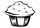 Målarbild muffins