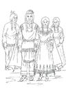 Målarbild Nimiipu-indianer