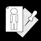 Målarbild notisblock