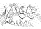 Målarbild Odysseus - illustration