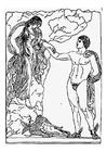 Målarbild Perseus och Andromeda