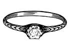 Målarbild ring