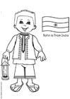 Målarbild Rohin frÃ¥n Indien