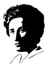 Målarbild Rosa Luxemburg