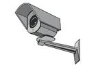 Målarbild säkerhets kamera