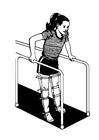 Målarbild sjukgymnastik