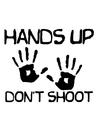 Målarbild skjut inte