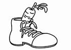 Målarbild sko för Sankt Nikolaus