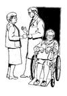 Målarbild skrivas ut frÃ¥n sjukhuset