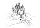 Målarbild slott