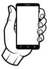 Målarbild smartphone