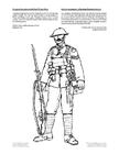 Målarbild soldat första världskriget