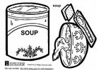 Målarbild Soppa
