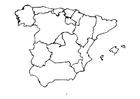 Målarbild Spanien