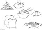 Målarbild spannmÃ¥lsprodukter