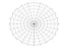 Målarbild spindelväv