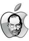 Målarbild Steve Jobs - Apple