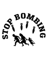 Målarbild stoppa bomba