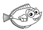 Målarbild svärdfisk