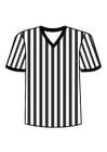 Målarbild t-shirt domaren