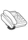 Målarbild telefon
