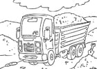 Målarbild truck