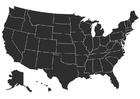 Målarbild USA