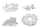 Målarbild växtätare