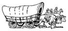 Målarbild vagn