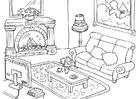 Målarbild vardagsrum