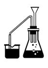 Målarbild vetenskap