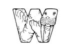 Målarbild w-walrus