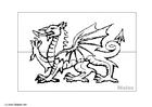 Målarbild Wales
